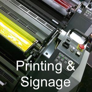 business printing and signage