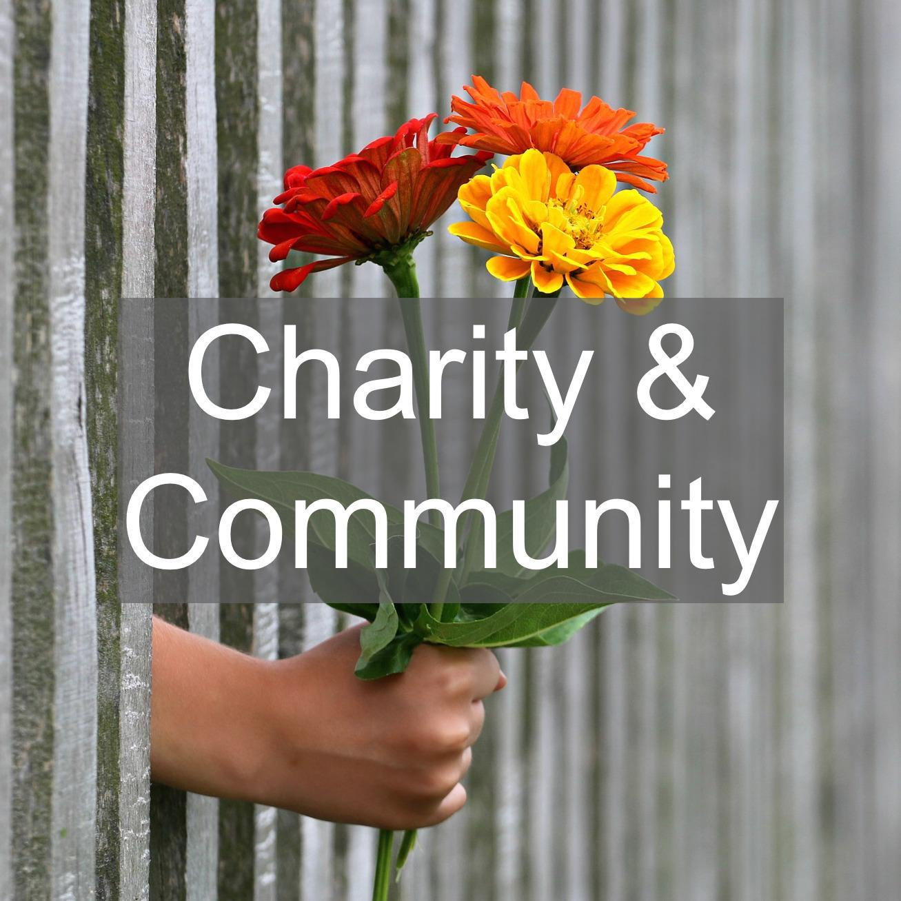 charity and community groups and societies