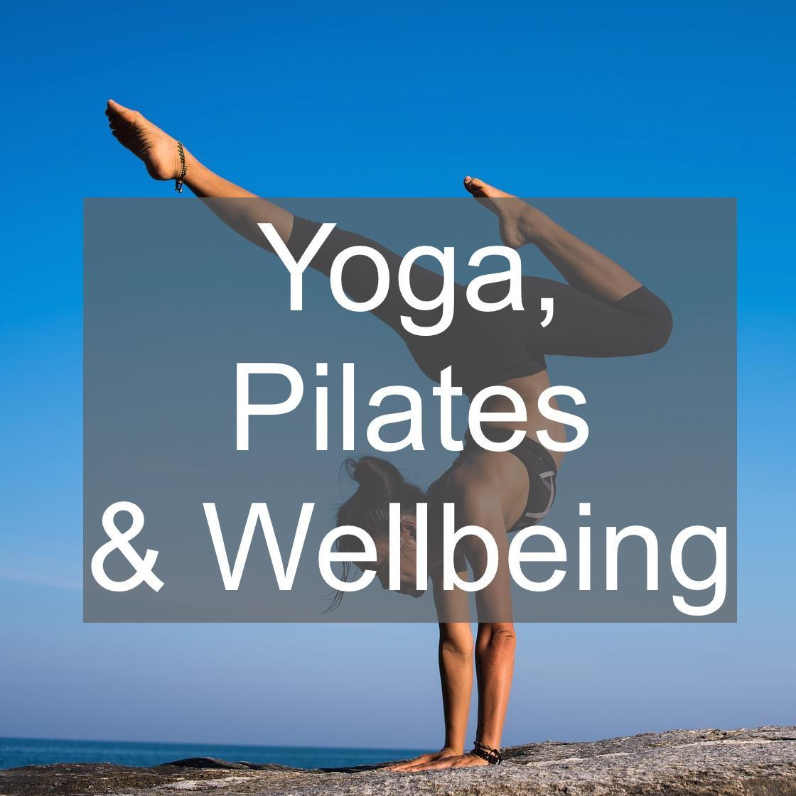 yoga pilates and wellbeing