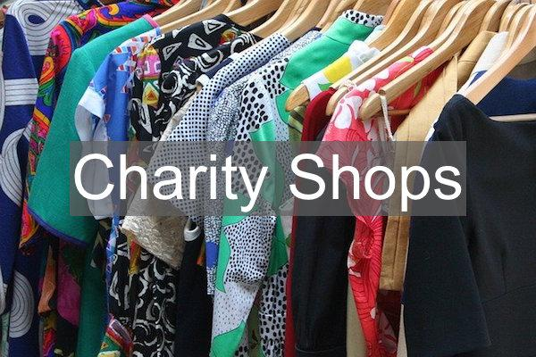 charity shops in Lymington and the New Forest