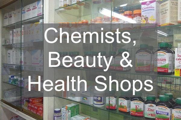 chemists, health and beauty shops in Lymington and the New Forest