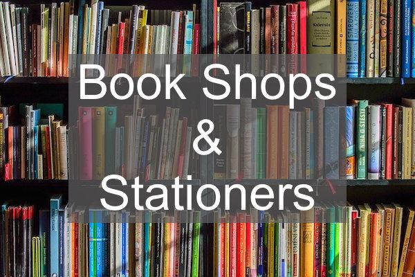 book shops and stationers in Lymington and the New Forest
