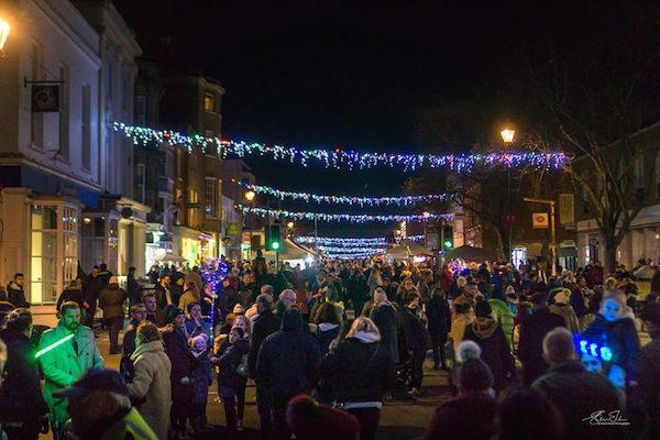 Lymington Late Night Shopping Evening 2018 by Steve Elson