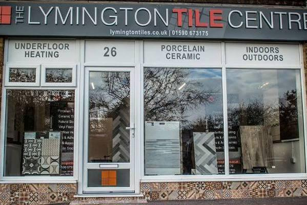 Lymington Tile Centre new showroom