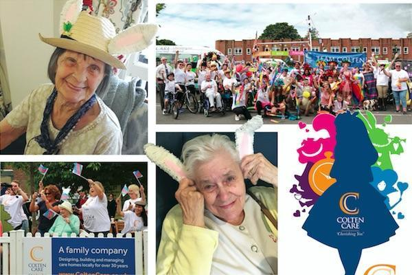 Colten Care homes at Lymington Carnival 2018