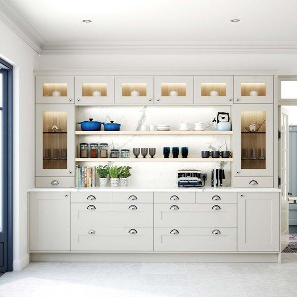 Crestwood of Lymington Kitchens - Keele MODERN DRESSER
