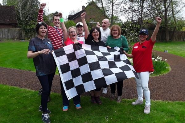 Woodpeckers Residential Home in Brockenhurst organises two marathons on London Marathon weekend