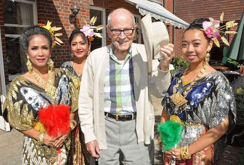 A taste of Thailand at Colten Care's Court Lodge in Lymington