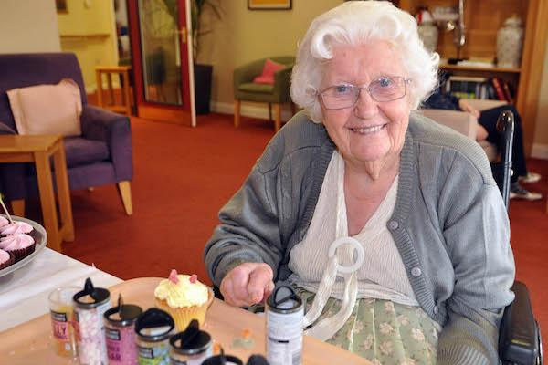 Cupcakes raise dementia awareness - and smiles all round