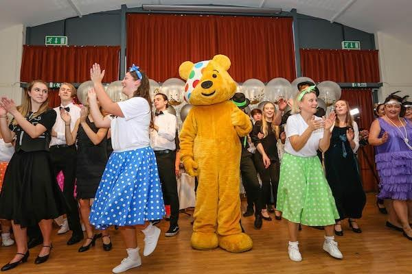 Colten Care homes raise £5,000 for Children in Need