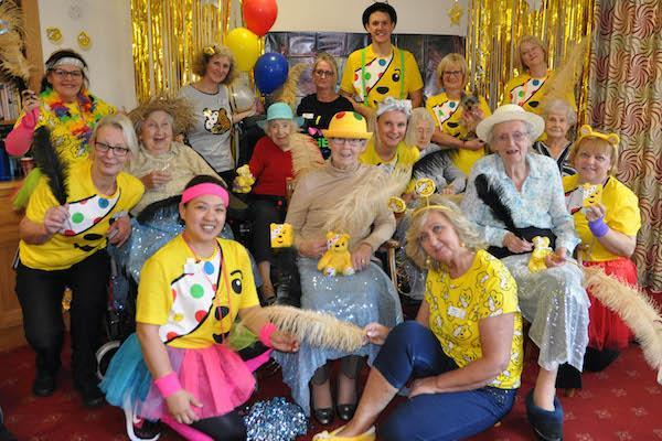 New Forest Colten Care homes stage Danceathon for Children in Need