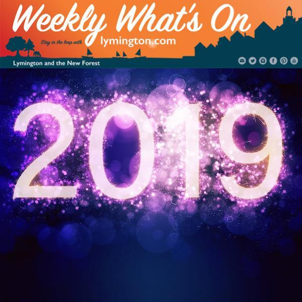 2019 new year - weekly what's on New Forest 2019