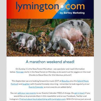 7 September Lymington Newsletter