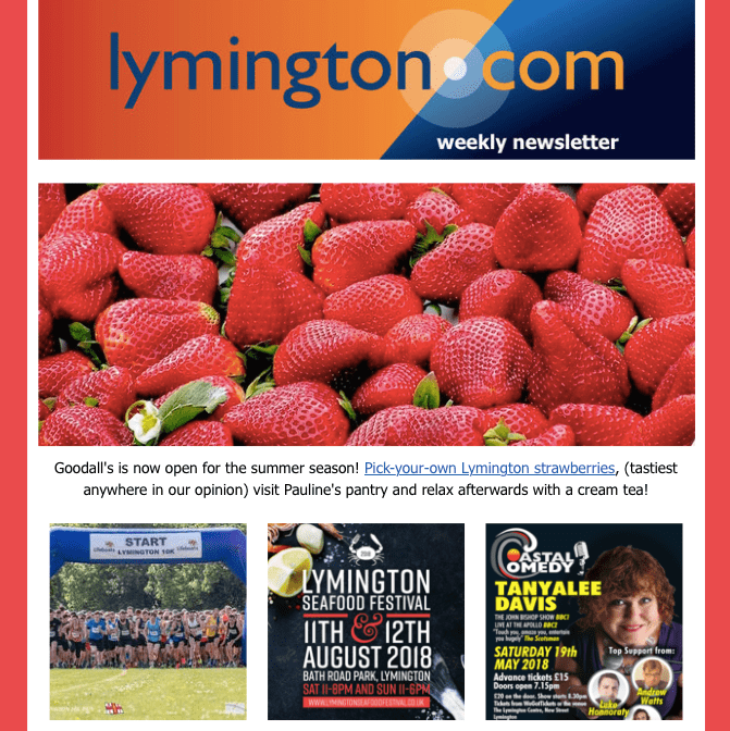 Lymington Newsletter 11 may