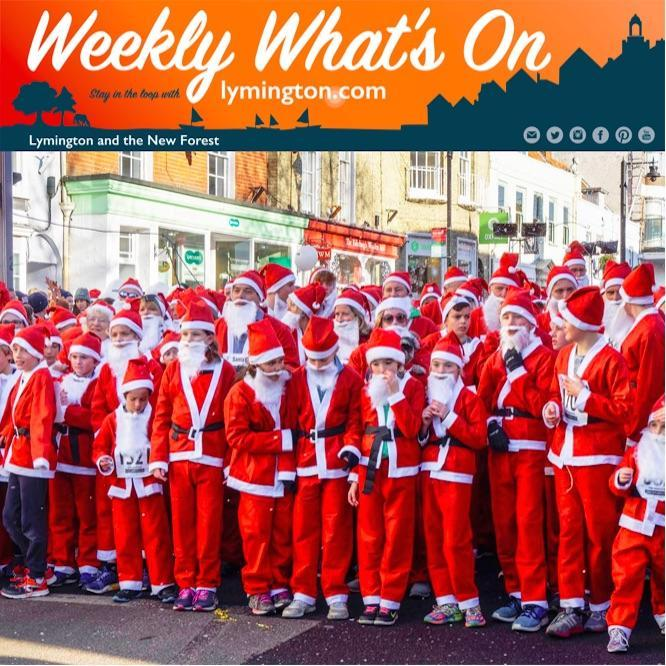 Weekly What's On from Lymington.com 7 December 2018