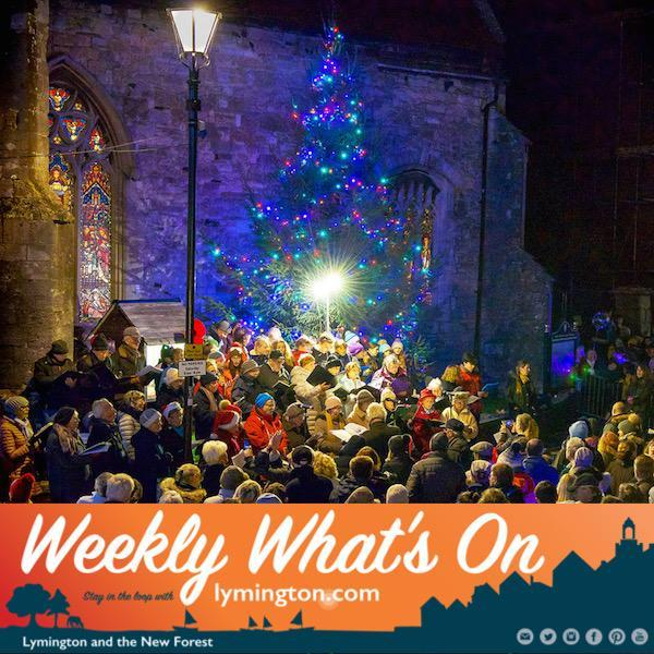 William Bonnett Lymington Christmas Lights 2018 WWO 30 November 2018