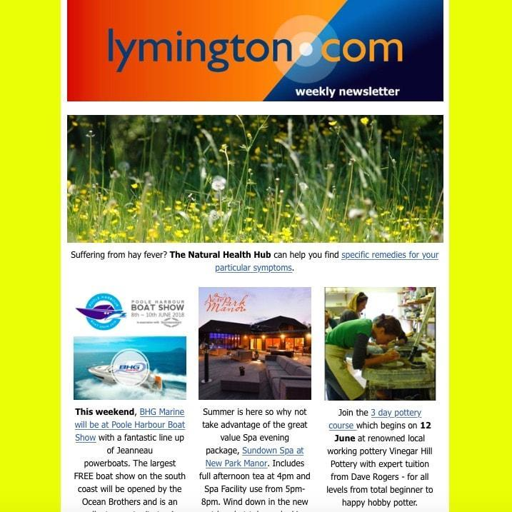 lymington newsletter 8 june