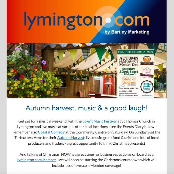 lymington newsletter 21 september