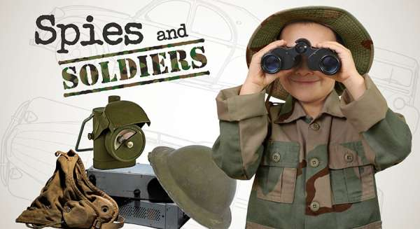 Spies and Soldiers at Beaulieu May half term 2018