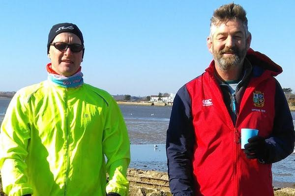 Lymington duo scooting 120 miles for Saints Foundation