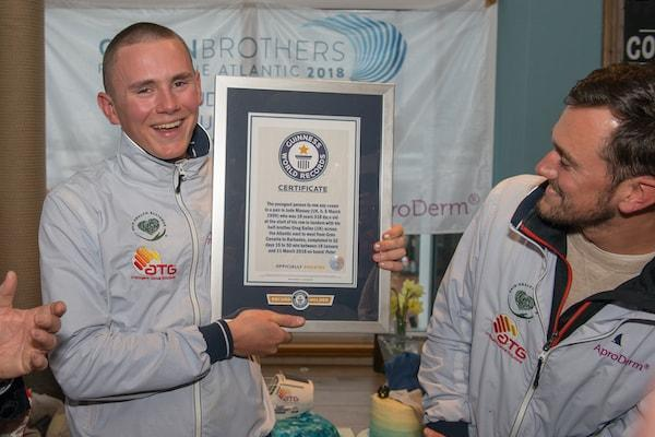 Jude Massey Guinness World Record holder youngest to row any ocean as a pair