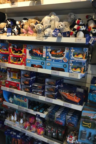 Toys at the Lymington RNLI Shop