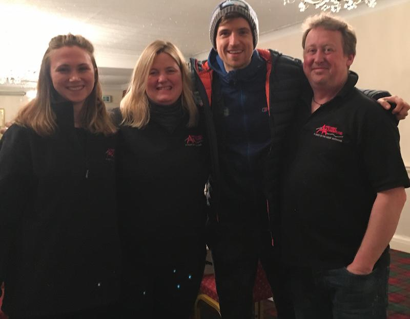 Appetite for Adventure Team with Greg James