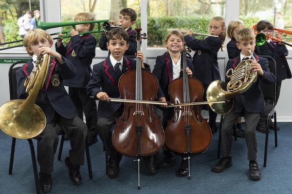 Ballard School LP music group Y3