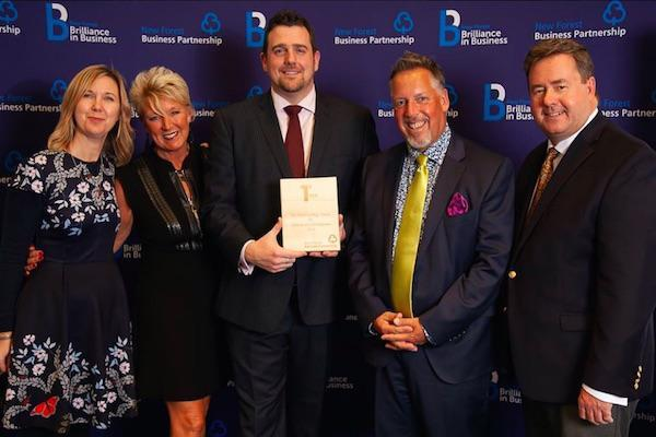 Balmer Lawn scoops two accolades at New Forest Brilliance in Business Awards