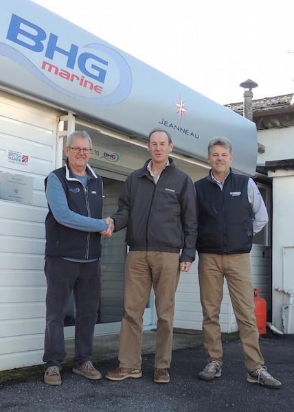 BHG marine sell to Berthons Lymington Marina