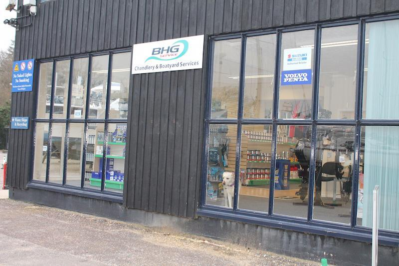 New BHG Chandlery at Bucklers Hard