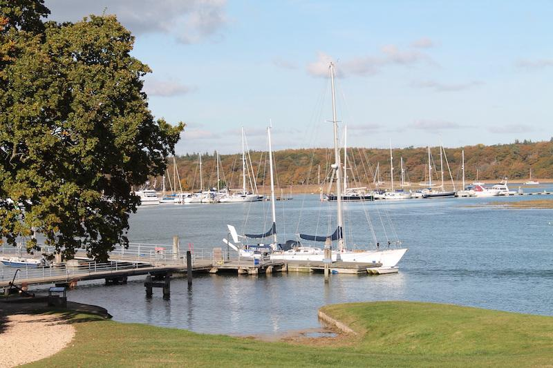 New chandlery at Buckler's Hard Yacht Harbour