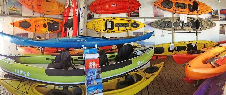 Kayaks at BHG Marine
