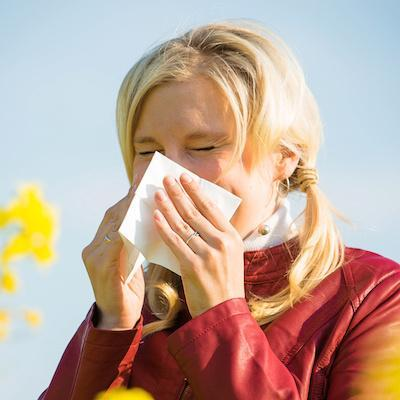 Reduce your hayfever – perhaps get rid of it for ever