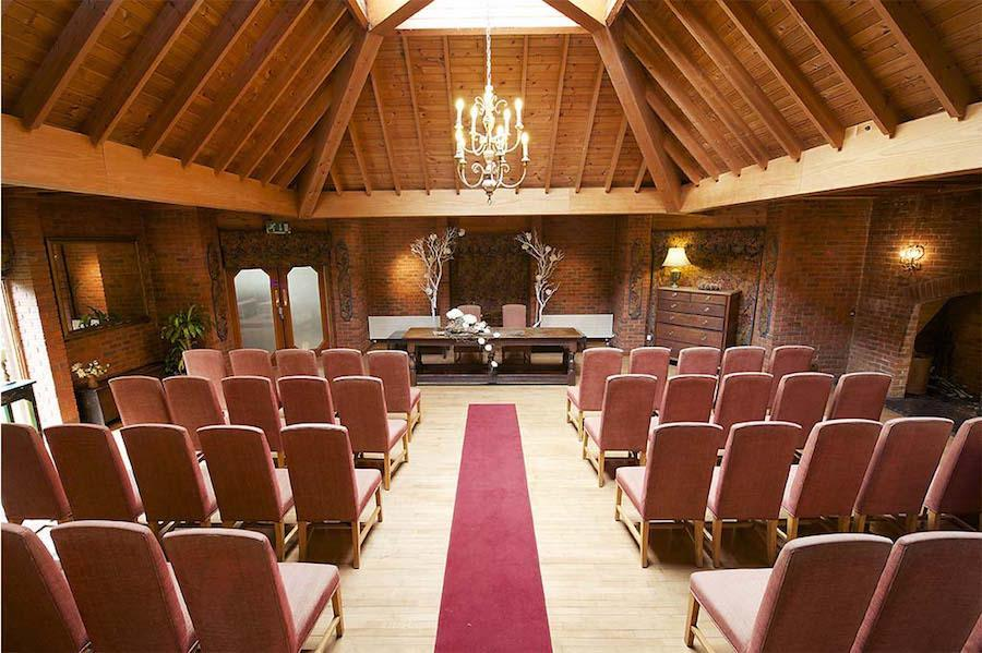 Weddings in the Lounge at Careys Manor Hotel
