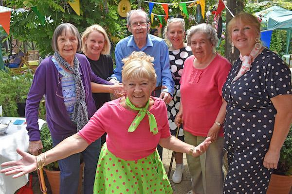 1950's BBQ proves a hit at Lymington's Court Lodge care home