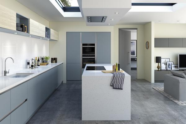 Crestwood of Lymington Kitchens – Linden Woodgrain Kitchen