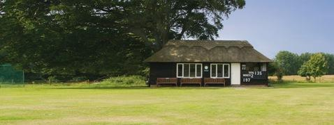 Pylewell Park Cricket Club pavilion and grounds