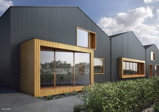 Commercial new build forest architecture