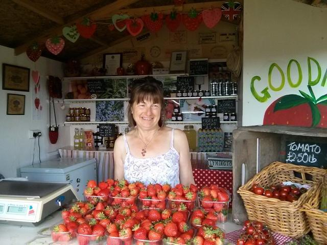goodalls strawberries lymington Pauline