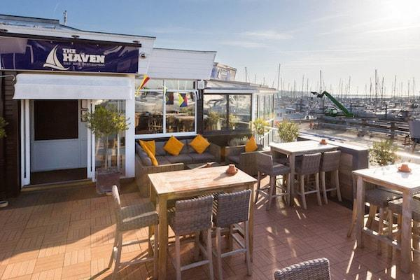 The Haven Bar and Restaurant exterior view 600x400