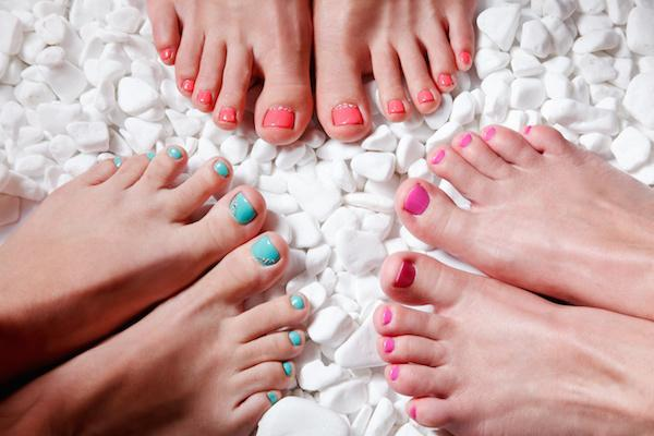 Time to get your toes out - but are they toxin-free?