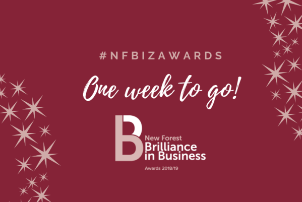 2018 New Forest Business Partnership Brilliance in Business Awards one week to go