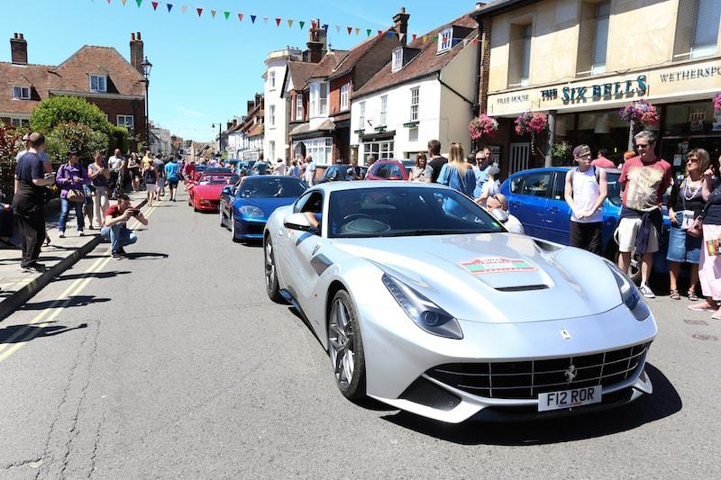 Lymington Italia Festival 2017 in St Thomas Street