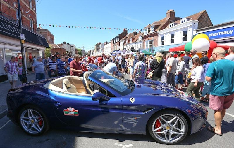 Italia Festival 2017 in Lymington High Street