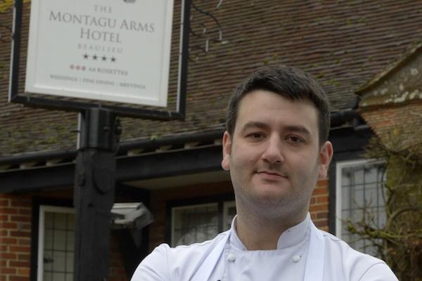 The Montagu Arms recruits new head chef from one of the world's best restaurants