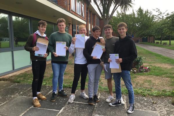Priestlands students celebrate GCSE results 2018