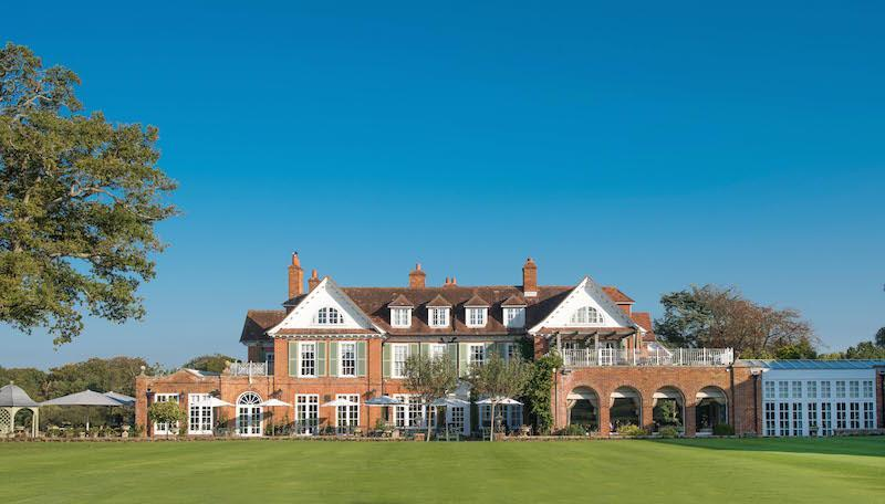Chewton Glen near the New Forest in Hampshire
