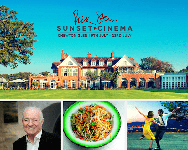Rick Steins Sunset Cinema at the Chewton Glen in Hampshire 9-23 July 2017