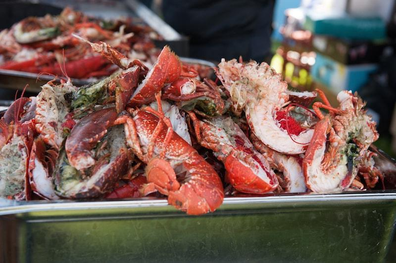 Lobster at Lymington Seafood Festival 2017